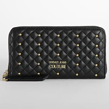 Versace Jeans Couture - Portefeuille Femme Range Quilting Noir