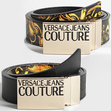 Versace Jeans Couture - Ceinture Réversible 71YA6F32 Noir Renaissance