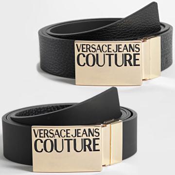 Versace Jeans Couture - Ceinture Réversible 71YA6F32 Noir Doré