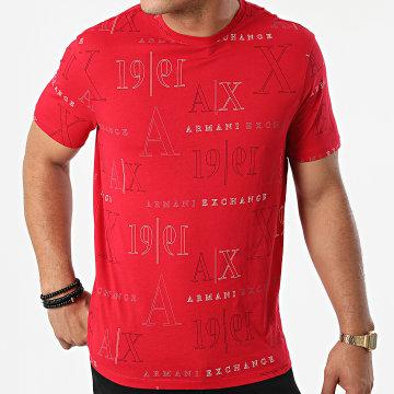 Armani Exchange - Tee Shirt 6KZTFW-ZJ1DZ Rouge