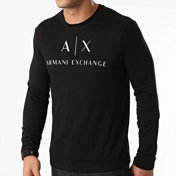 Armani Exchange - Tee Shirt Manches Longues 8NZTCH-Z8H4Z Noir