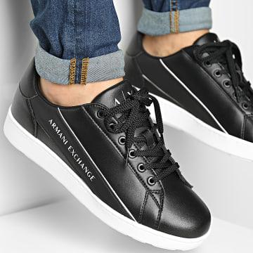 Armani Exchange - Baskets XUX082 XV262 Black Off White