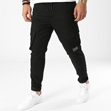Deeluxe - Pantalon Cargo Willy Noir