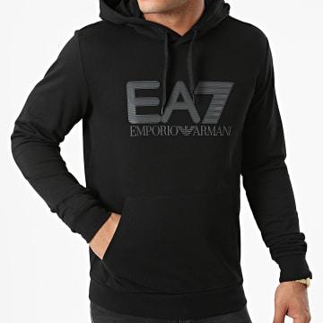 EA7 Emporio Armani - Sweat Capuche 6KPM62-PJ05Z Noir