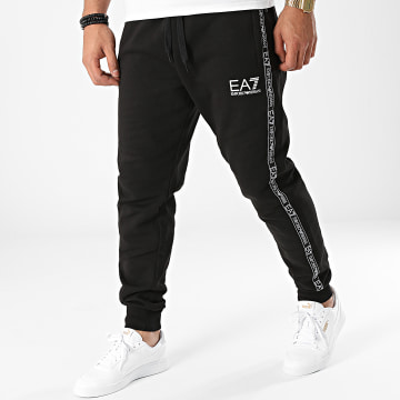 EA7 Emporio Armani - Pantalon Jogging A Bandes 6KPP61-PJ07Z Noir