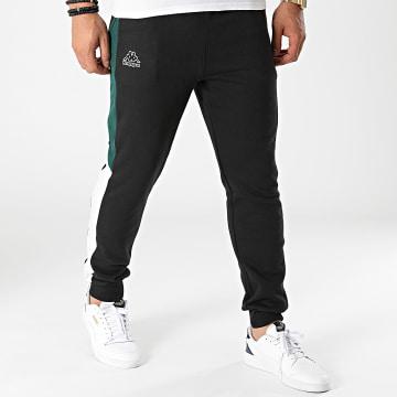 Kappa - Pantalon Jogging A Bandes 341156W Noir