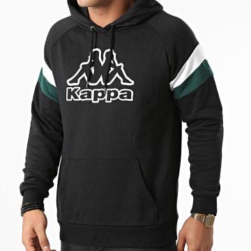 Kappa - Sweat Capuche 341174W Noir