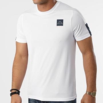 Kappa - Tee Shirt De Sport Imparo Blanc