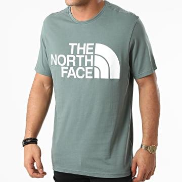 The North Face - Tee Shirt Standard A4M7X Vert Foncé