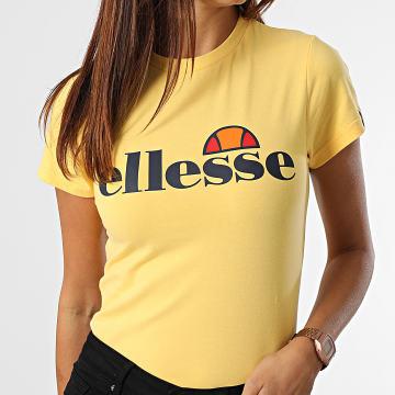 Ellesse - Tee Shirt Femme Hayes Jaune