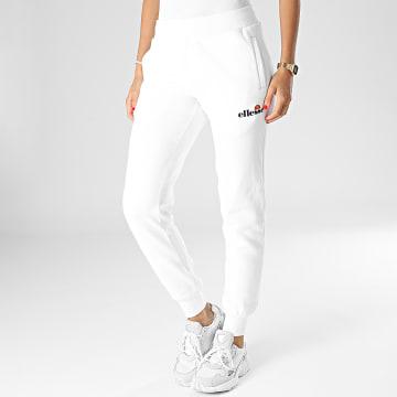 Ellesse - Pantalon Jogging Femme Hallouli Blanc