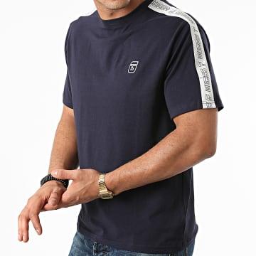 Guess - Tee Shirt A Bandes U1BA32-J1311 Bleu Marine