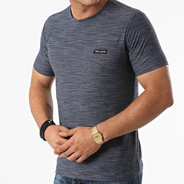 Teddy Smith - Tee Shirt Nark 11014742D Bleu Marine Chiné