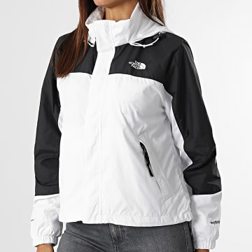 The North Face - Coupe-Vent Femme Crop Hydrenaline A53BT Blanc