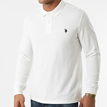 US Polo ASSN - Polo Manches Longues Must 60628-49785 Blanc