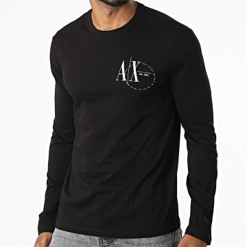 Armani Exchange - Tee Shirt Manches Longues 6KZTFR-ZJ1DZ Noir