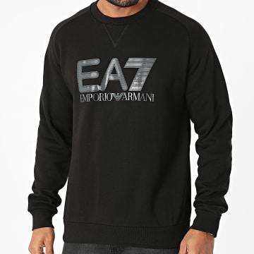 EA7 Emporio Armani - Sweat Crewneck 6KPM15-PJ07Z Noir
