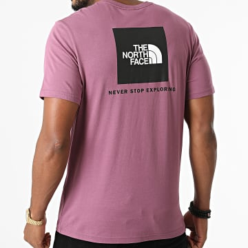 The North Face - Tee Shirt Red Box A2TX2 Violet