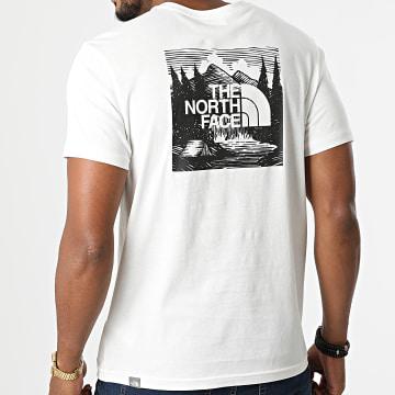 The North Face - Tee Shirt Redbox A2ZXE Ecru