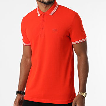 BOSS - Polo Manches Courtes Paddy 50398302 Orange