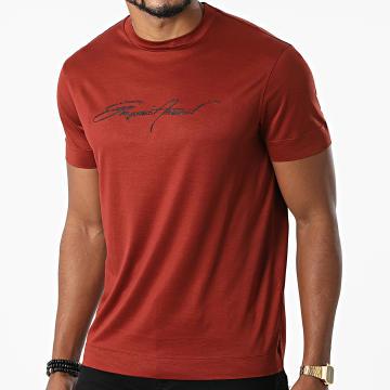 Emporio Armani - Tee Shirt 6K1T78-1JUVZ Marron