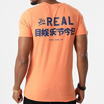 Superdry - Tee Shirt Vintage Logo AC M1011143A Orange Clair