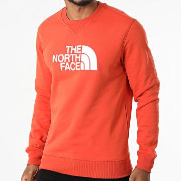 The North Face - Sweat Crewneck Drew Peak A4SVR Orange