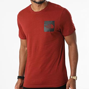 The North Face - Tee Shirt Fine 0CEQ5 Rouge Brique
