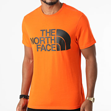 The North Face - Tee Shirt Standard A4M7X Orange
