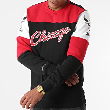 Mitchell and Ness - Sweat Crewneck Chicago Bulls Perfect Season Noir Rouge Blanc