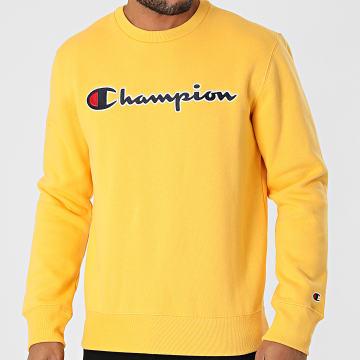 Champion - Sweat Crewneck 216471 Jaune