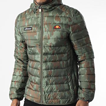 Ellesse - Doudoune A Capuche Lombardy SHK01115 Vert Kaki Camouflage