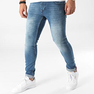 Uniplay - Jean Skinny 580 Bleu Denim