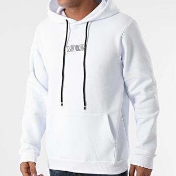 Aarhon - Sweat Capuche 93028 Blanc