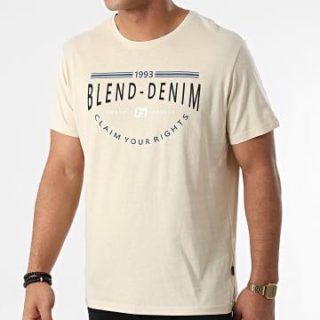 Blend - Tee Shirt 20712780 Beige