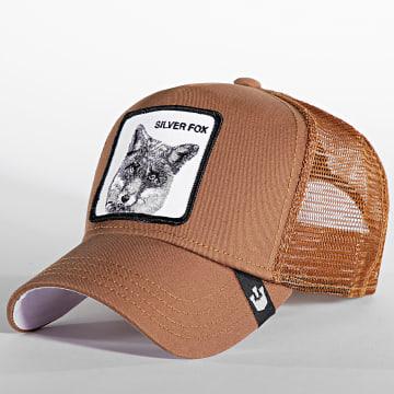 Goorin Bros - Casquette Trucker Silver Fox Marron