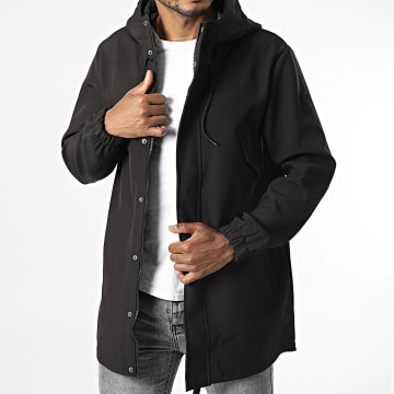 Only And Sons - Parka Capuche Hall Noir