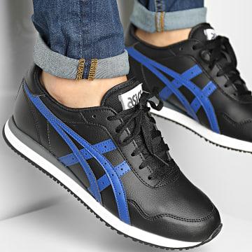 Asics - Baskets Tiger Runner 1201A505 Black Monaco Blue