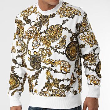Versace Jeans Couture - Sweat Crewneck Renaissance 71GAI3R0-FS002 Blanc