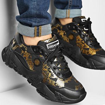 Versace Jeans Couture - Baskets Fondo Impulse 71YA3SH3 Black Renaissance