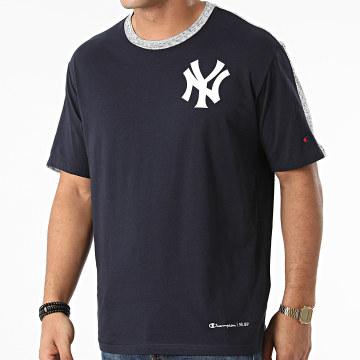Champion - Tee Shirt New York Yankees 217005 Bleu Marine