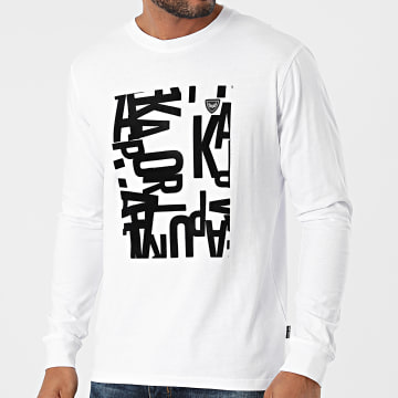 Kaporal - Tee Shirt Manches Longues Lirik Blanc