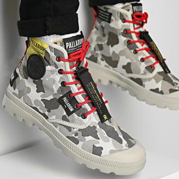 Palladium - Boots Pampa Lite Overlab Camo 77227 Dusky Green Camo