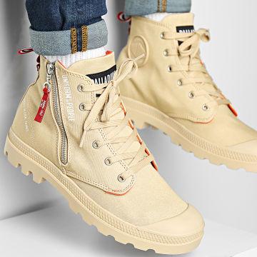 Palladium - Boots Pampa Hi Outzip Uniform Of The People 77023 Desert