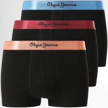 Pepe Jeans - Lot De 3 Boxers PMU10736 Noir