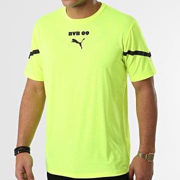 Puma - Tee Shirt De Sport 764297 Jaune Fluo