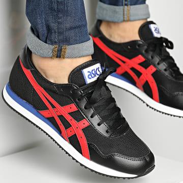 Asics - Baskets Tiger Runner 1201A267 Black Electric Red