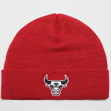 Mitchell and Ness - Bonnet Fandom Knit Chicago Bulls Rouge