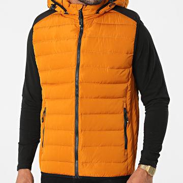 MTX - Doudoune Capuche Sans Manches 1206 Orange