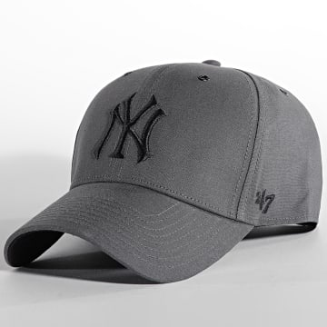 '47 Brand - Casquette MVP Adjustable New York Yankees Gris Anthracite